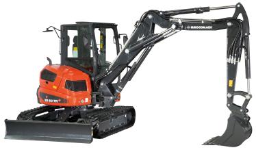 Eurocomach Excavator ES 6T TR - 6 Ton Excavator